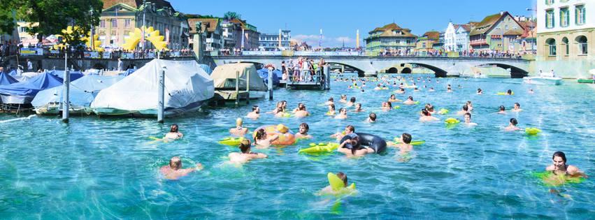 Limmatschwimmen Zürich, facebook.com/limmatschwimmen
