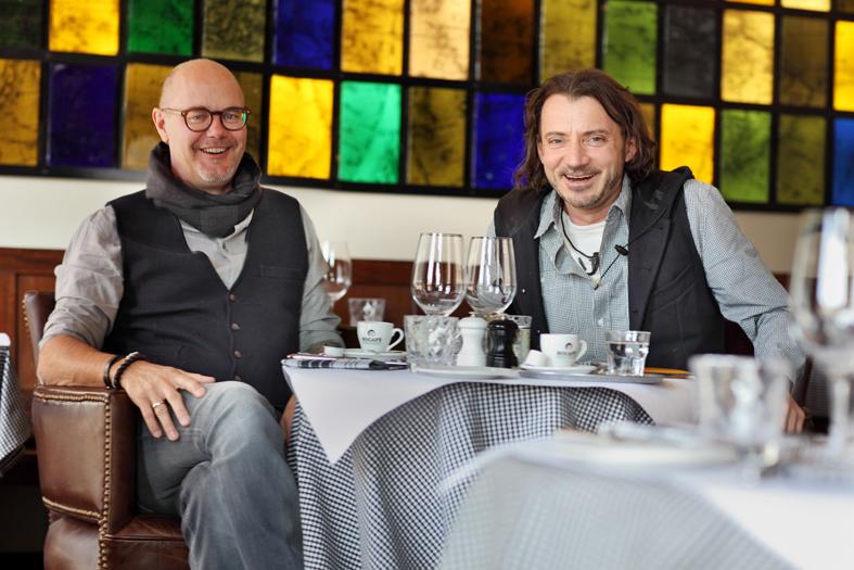 Daniel Kehl (links) und Marc Saxer (rechts), Foto: peclard.net