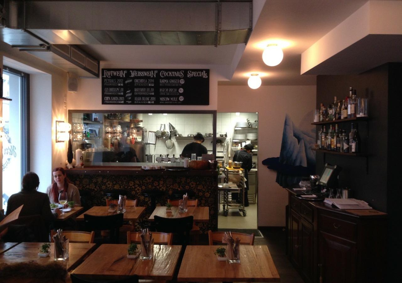 Das Ambiente im Restaurant Herr Jakob