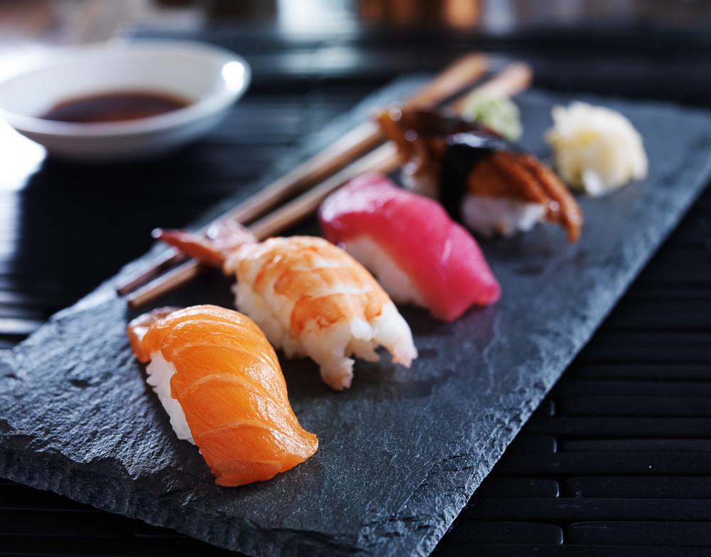 Sushi-Sorten: Nigiri