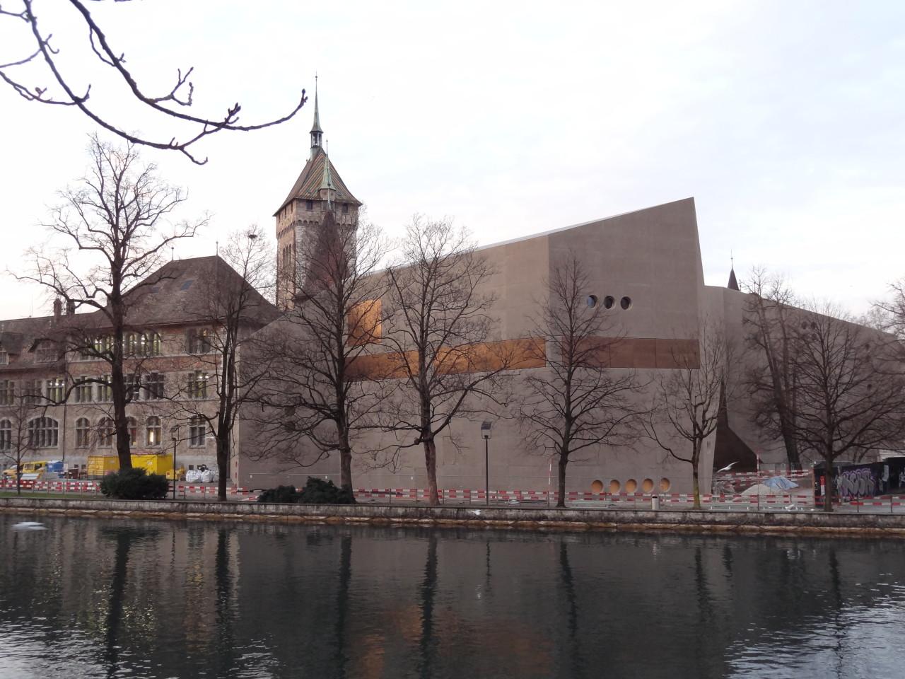 Der Anbau des Landesmuseums