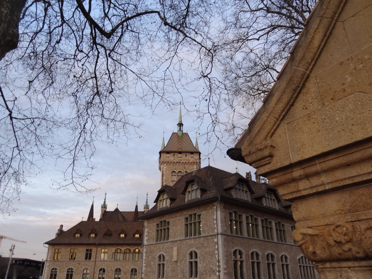 Landesmuseum. Der alte Bereich