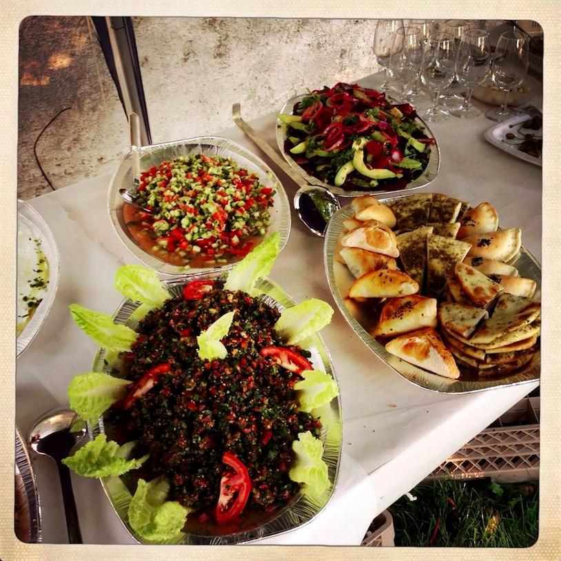 Feines Buffet von Zaatar