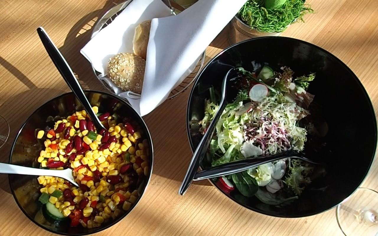 Salat zum Selber schöpfen