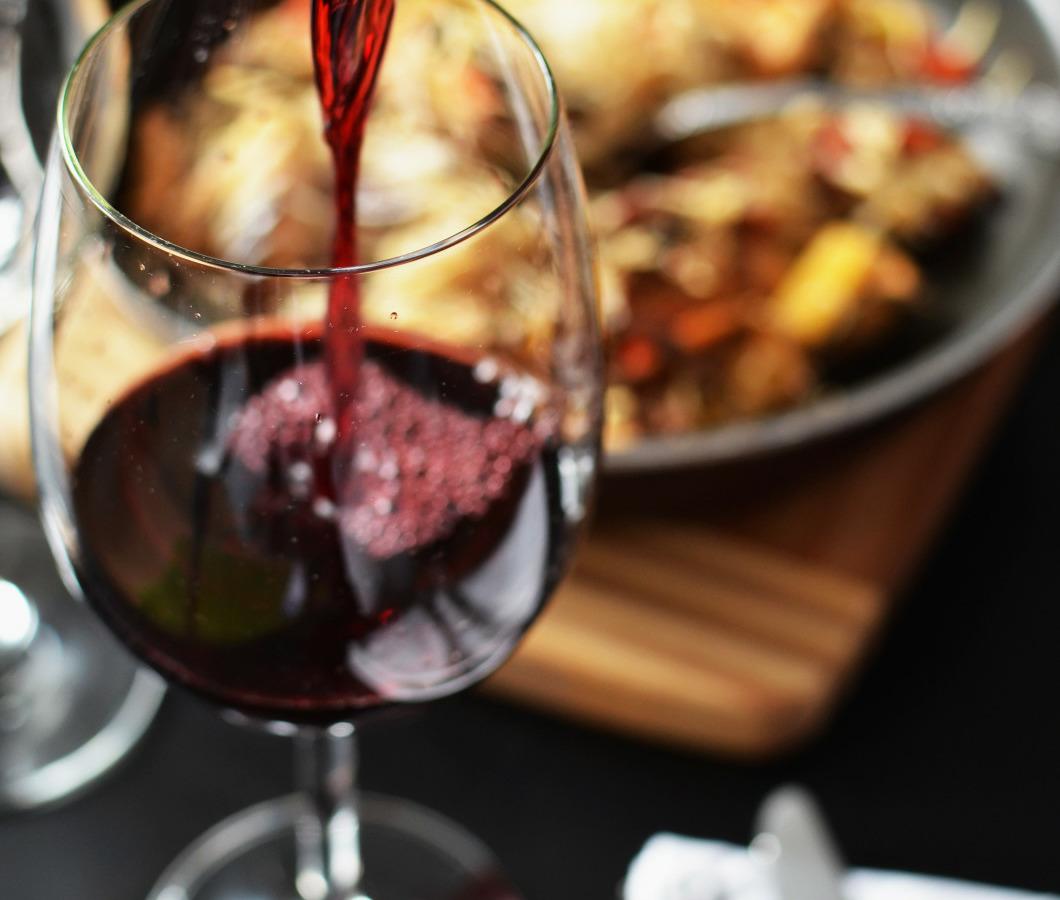 Aphrodisierendes Essen: Wein