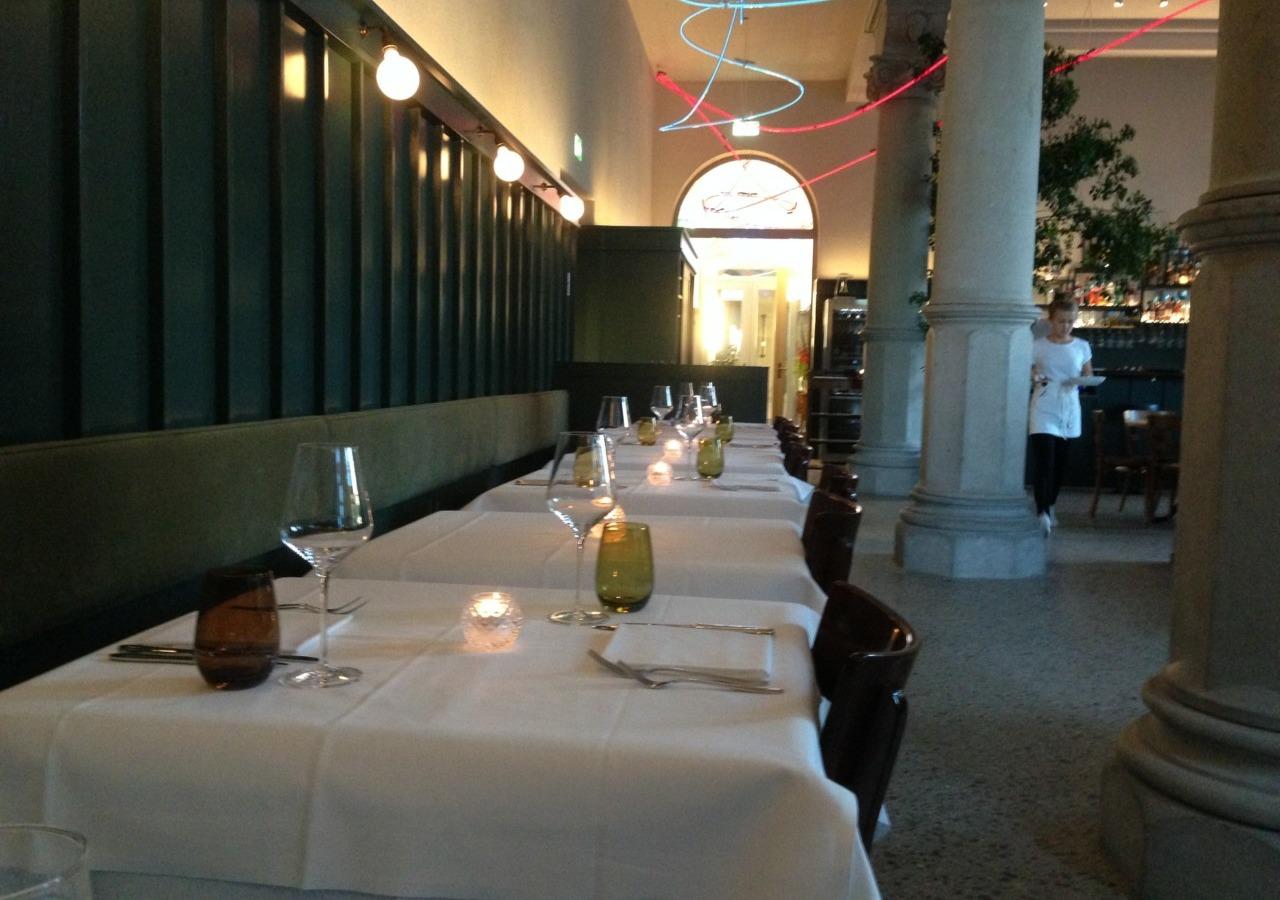 Inneneinrichtung Restaurant Spitz_Rafael