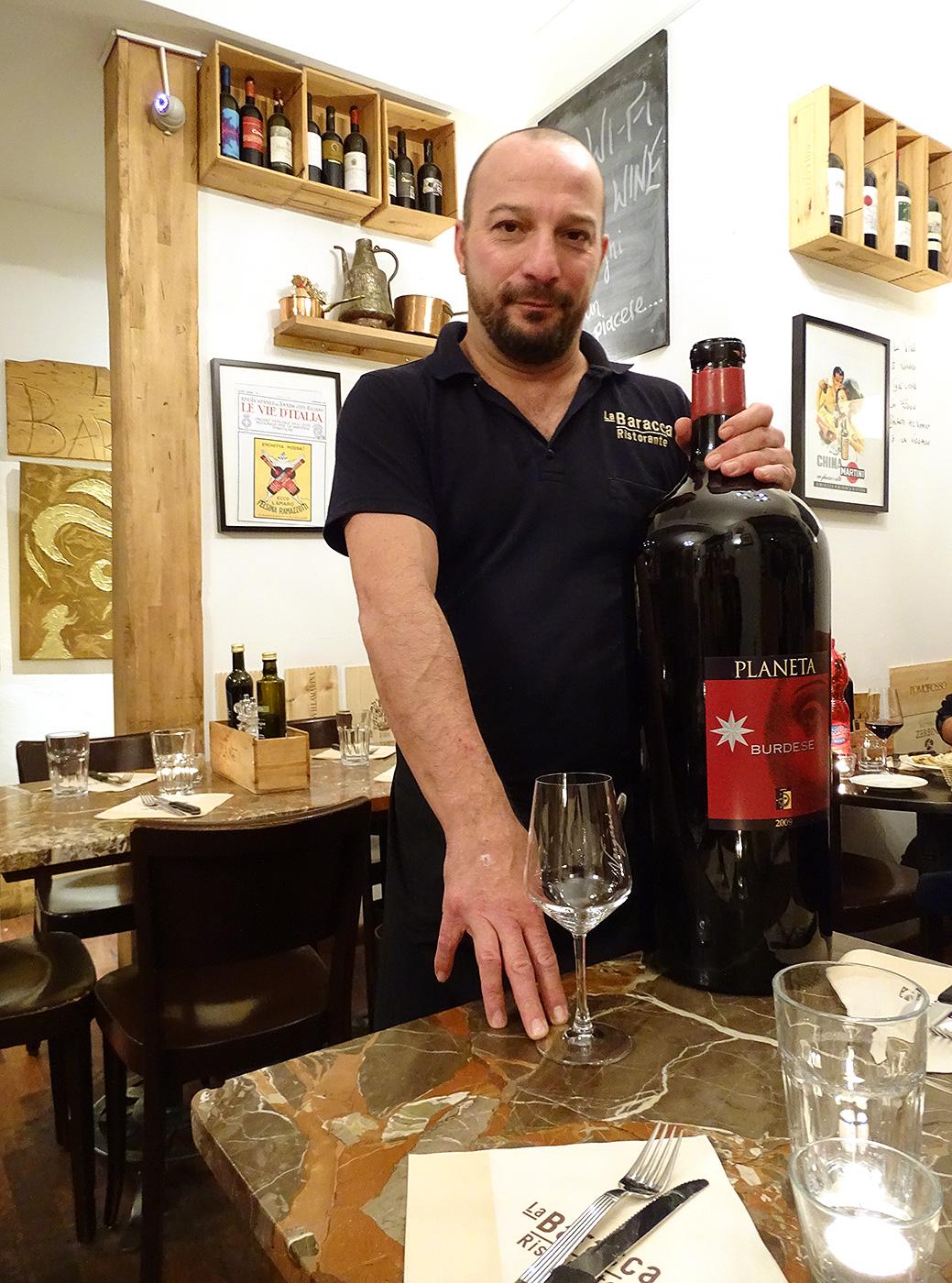 La Baracca - 12 Liter Wein