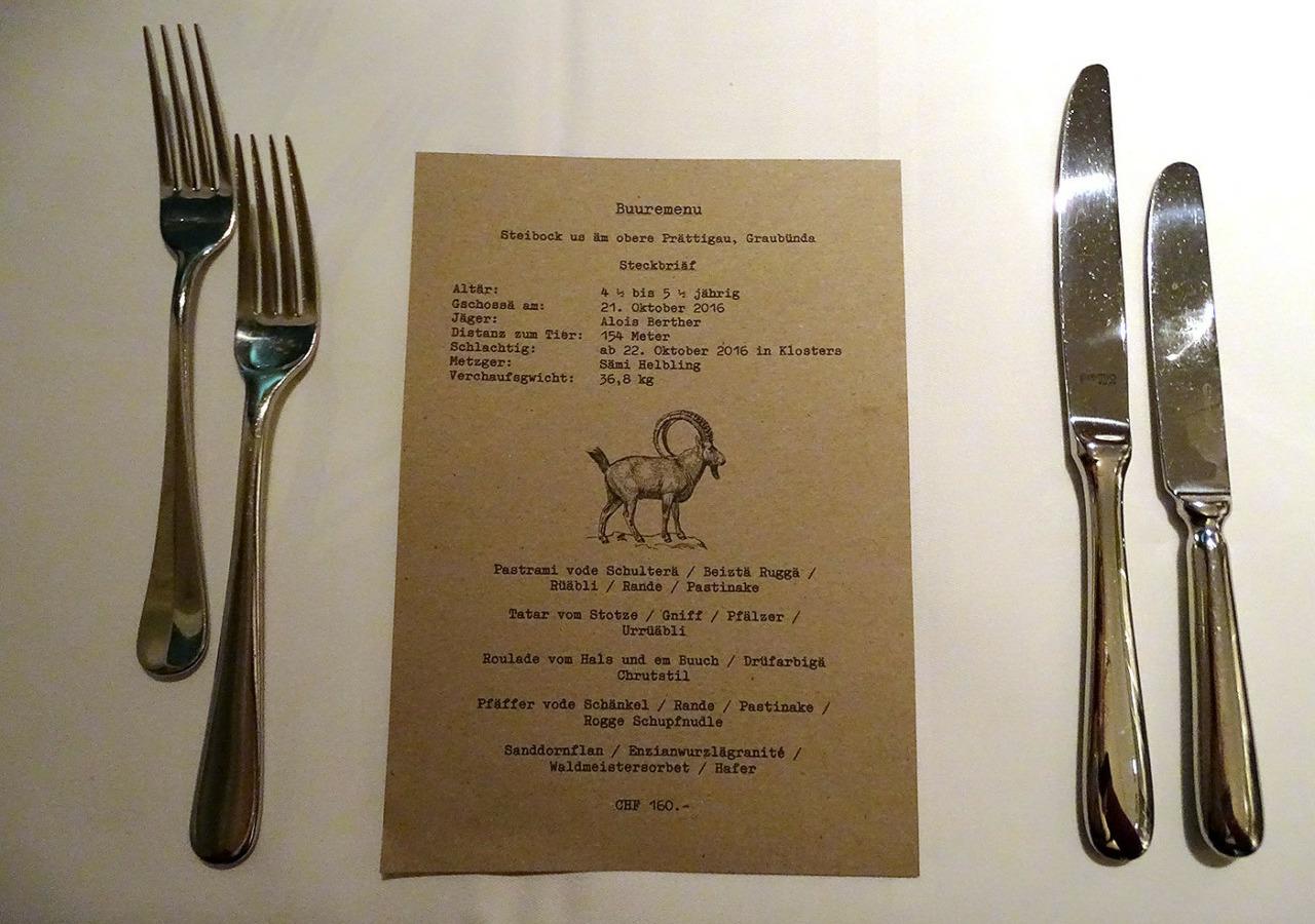 Restaurant Rechberg 1837 - Buuremenu