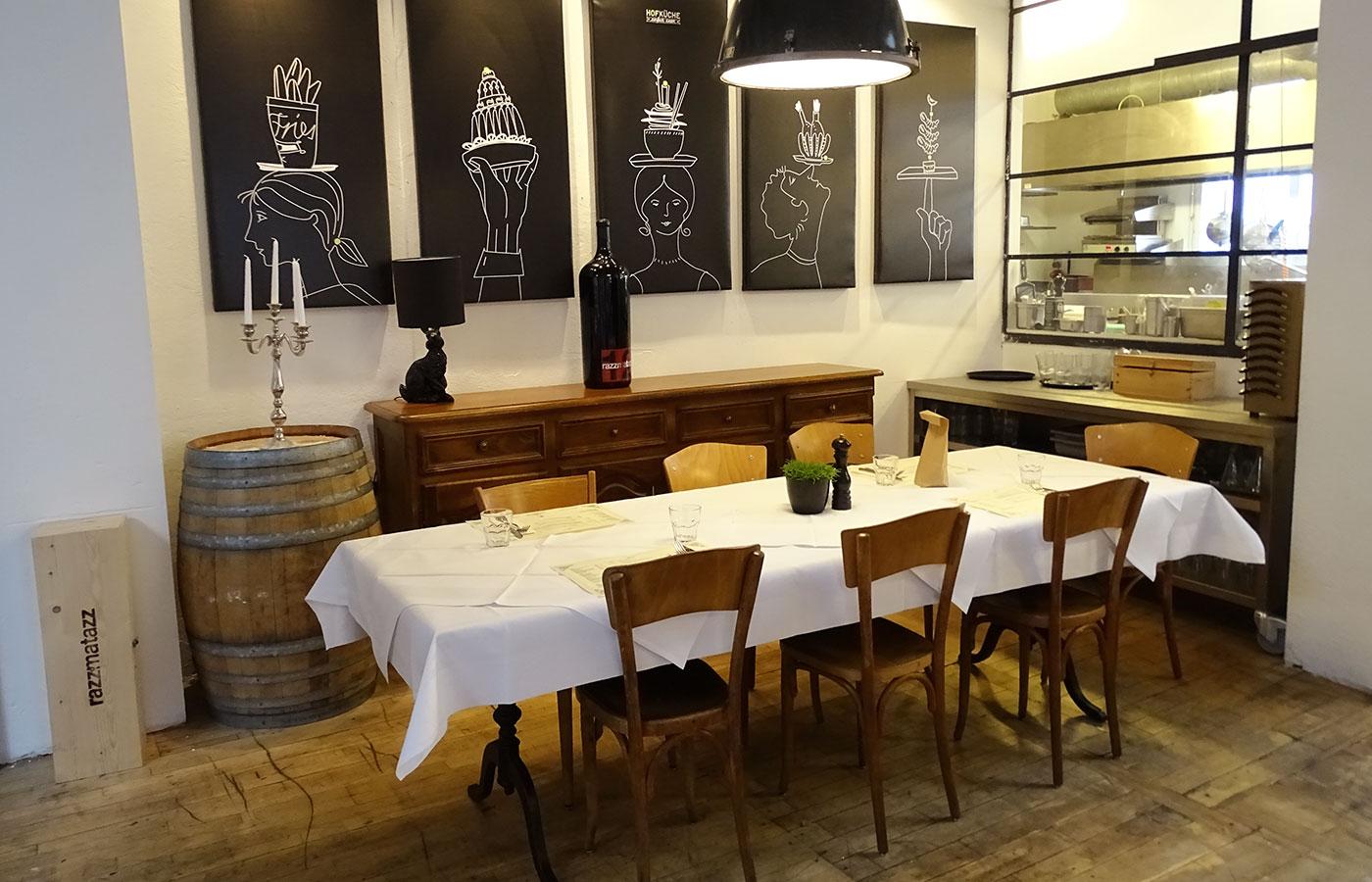 Restaurant Hofküche - Illustrationen