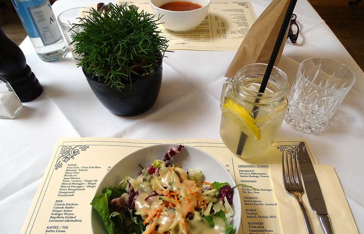 Restaurant Hofküche - Vorspeisen