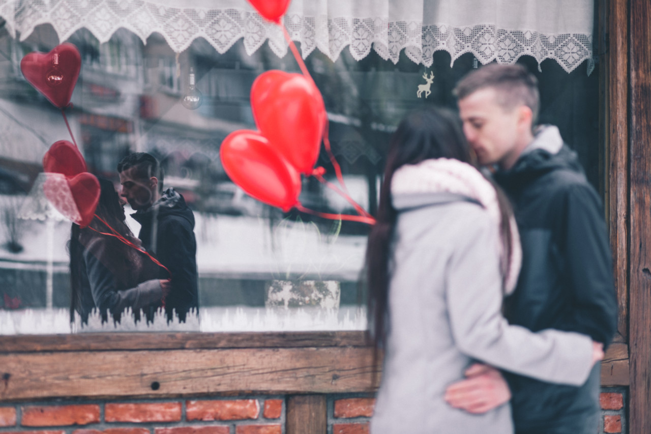 Valentinstag abend bilder