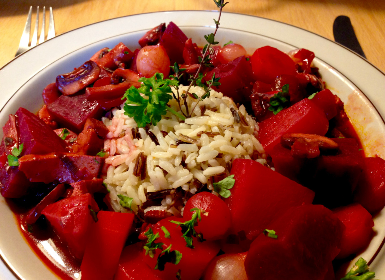 Rote Bete Bourguignon aus A modern way to eat