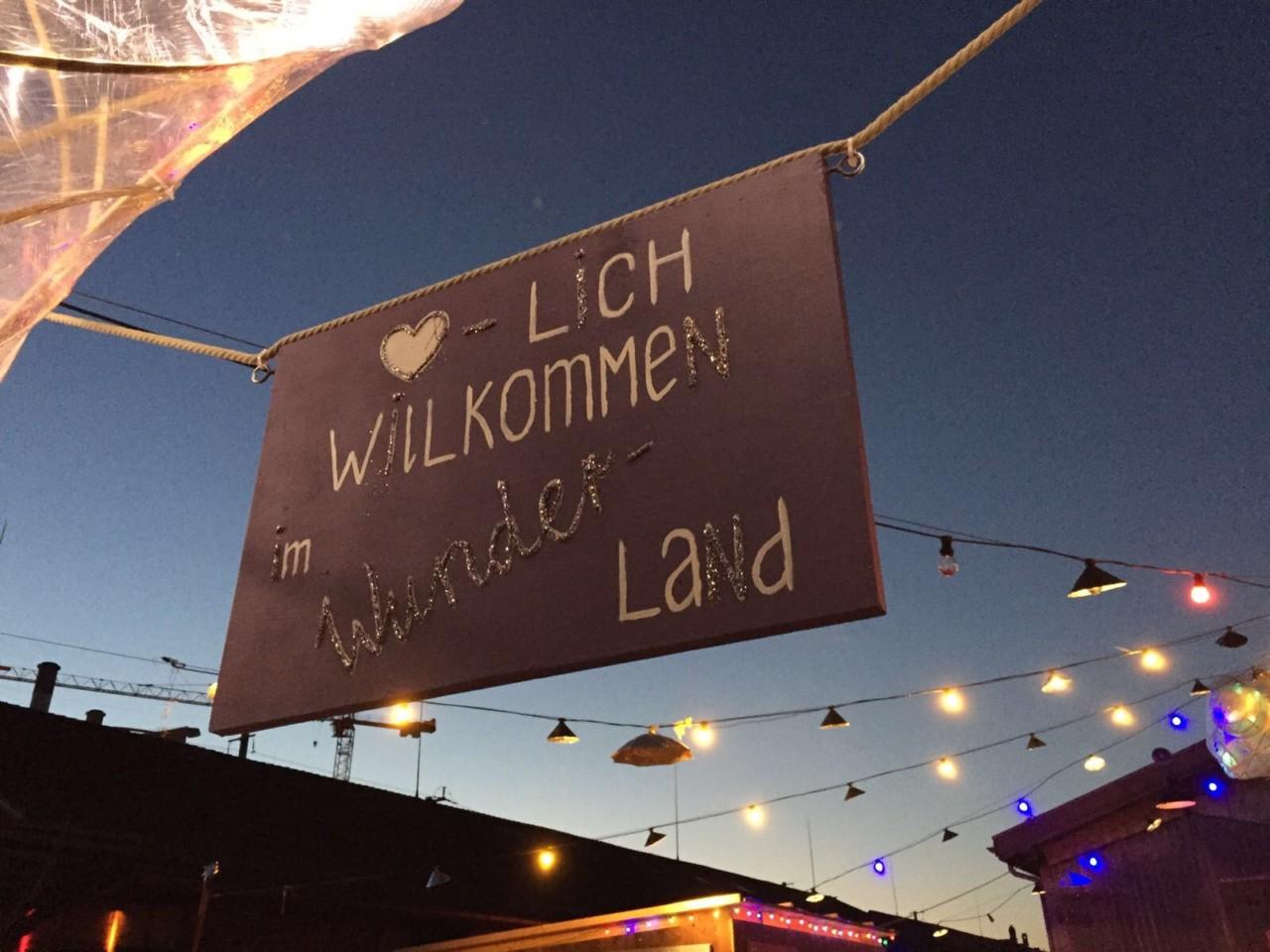 Willkommen im Wunderland: Die Sommerbar des Salzhaus Winterthur