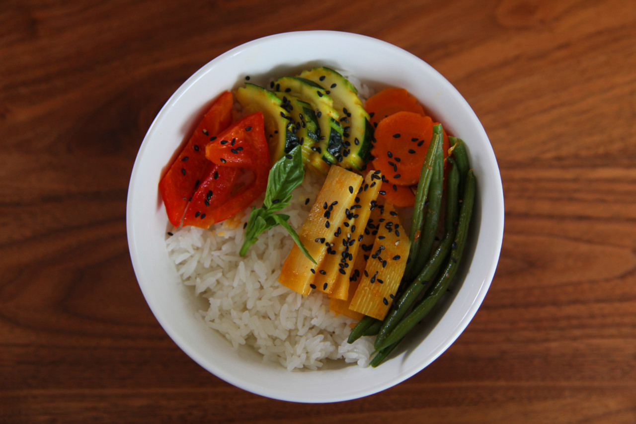 Red Curry Bowl von Alexandra