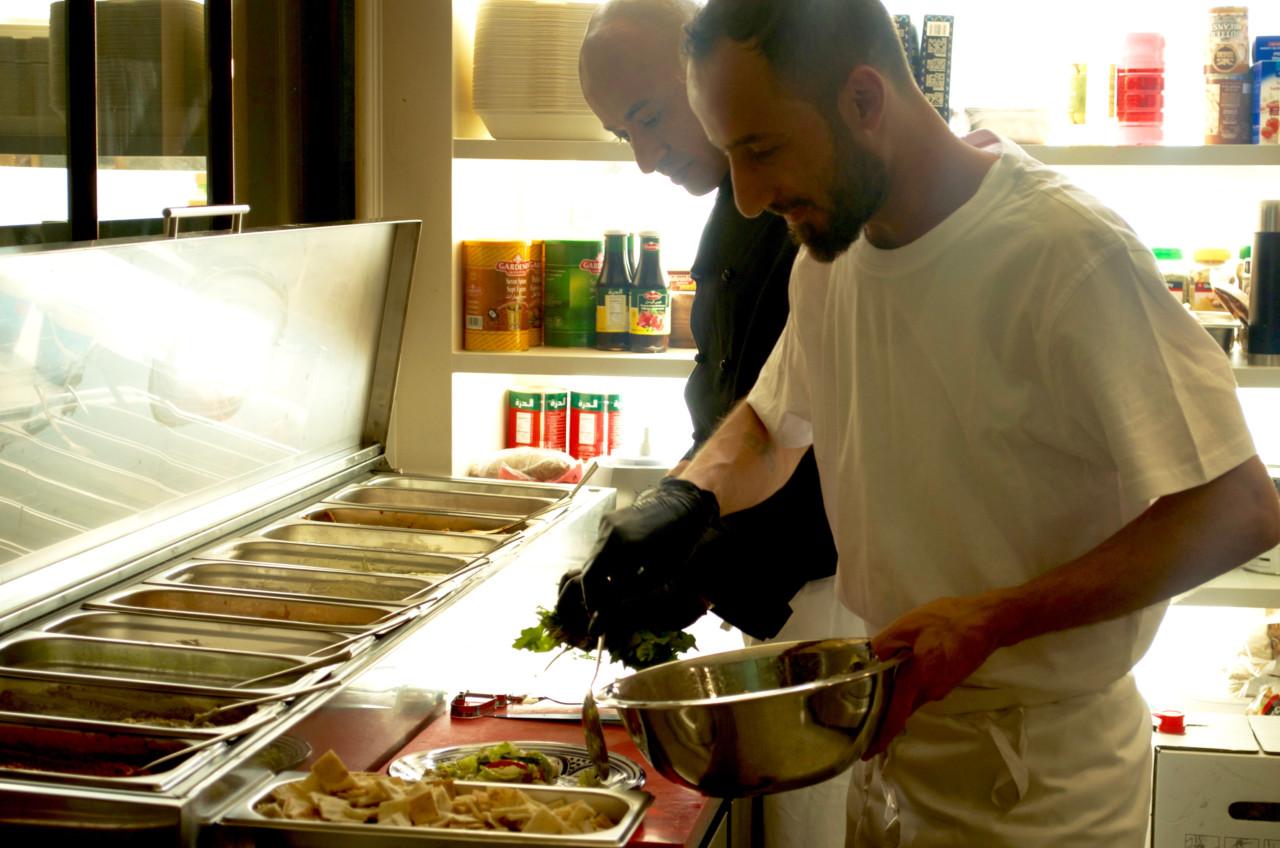 Das Koch-Duo sorgt für die kulinarische Höhenflüge