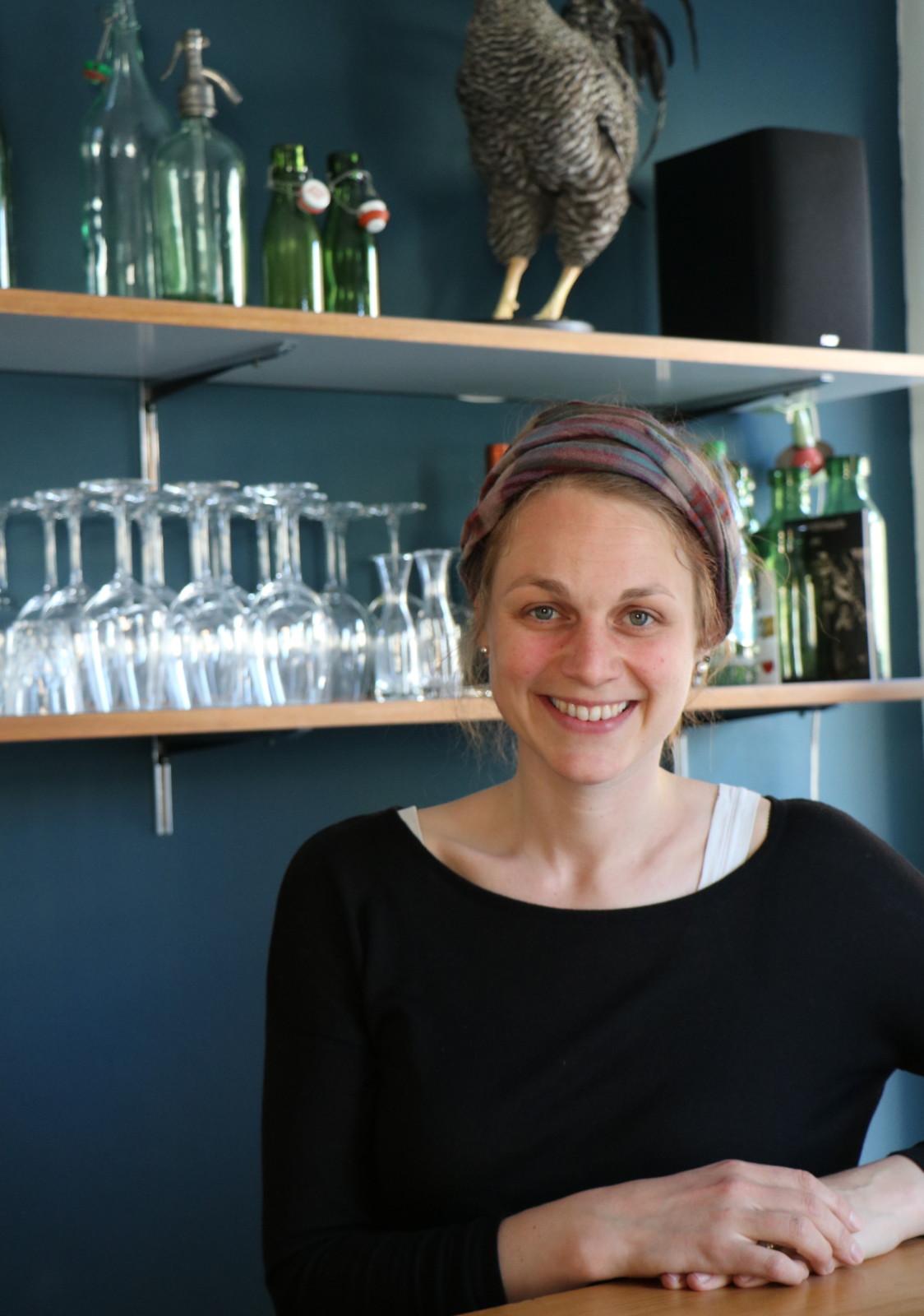 Slow Food Youth-Präsidentin Laura Schälchli