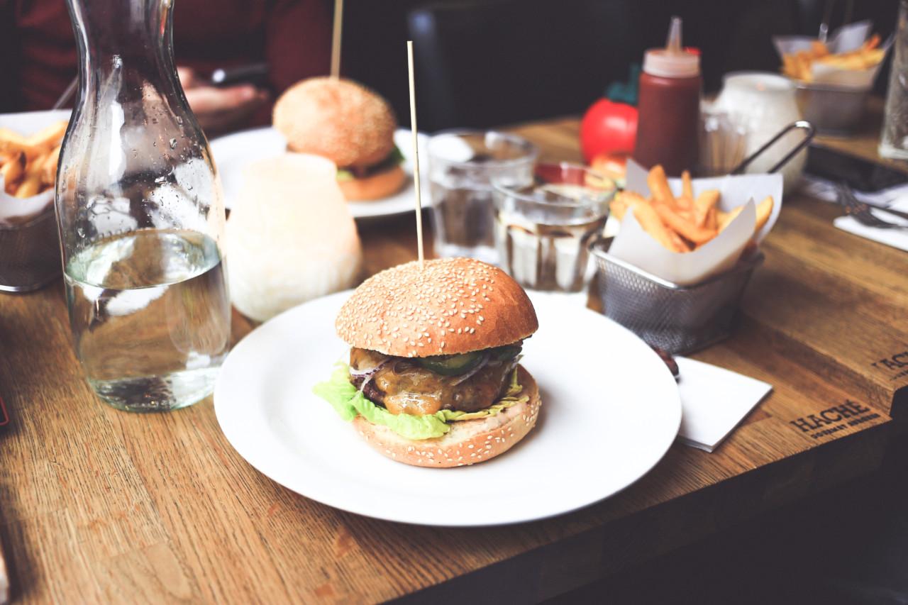 Bild Glutenfreier Burger Bun