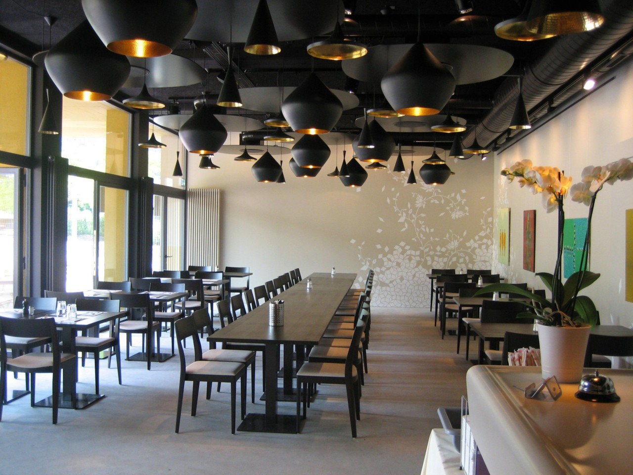 Restaurant aux carres im Leutschenbach-Quartier
