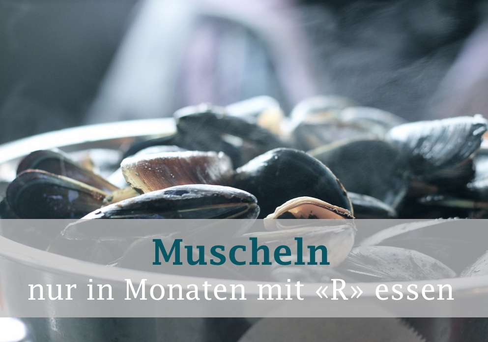 Essensmythen aufgedeckt: Muscheln