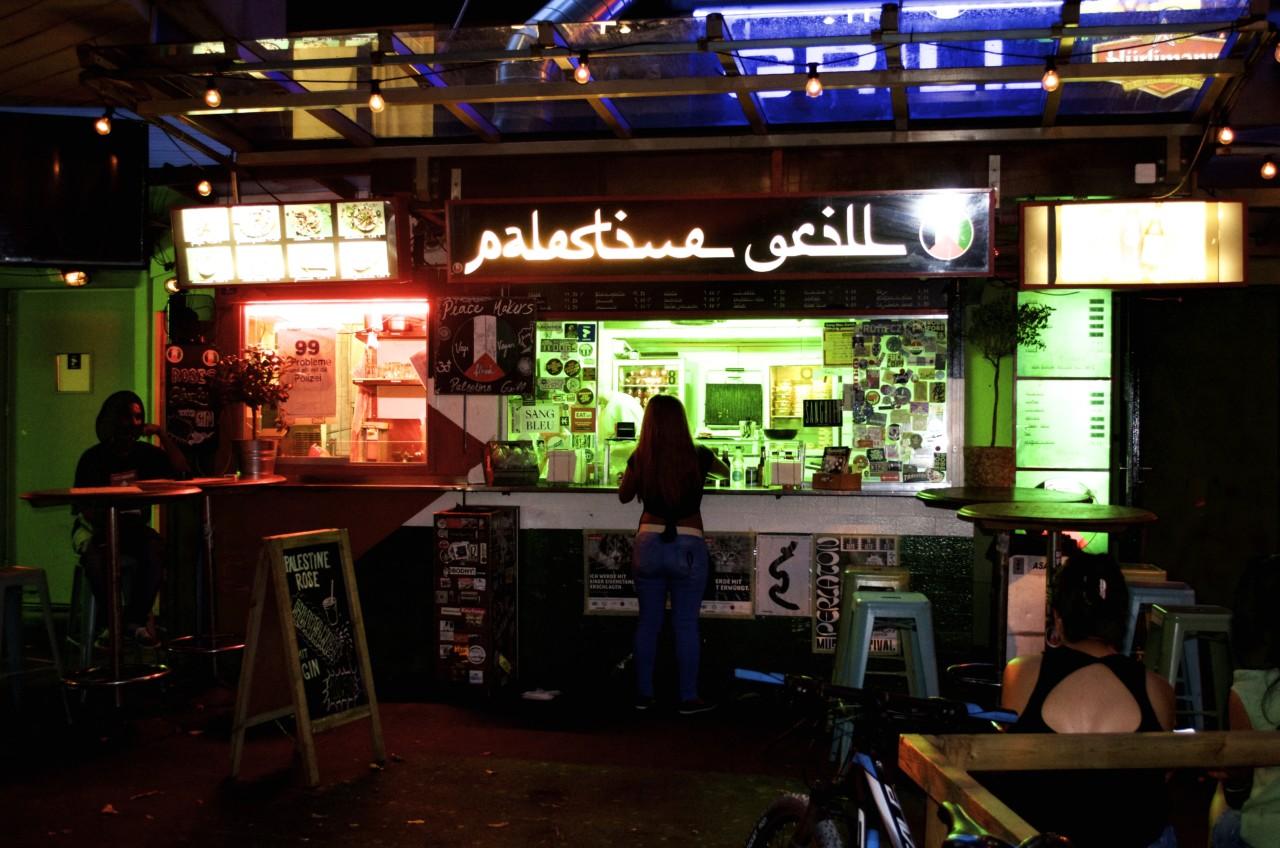 Der beste Falafel bis Mitternacht gibt es im Palestine Grill an der Langstrasse