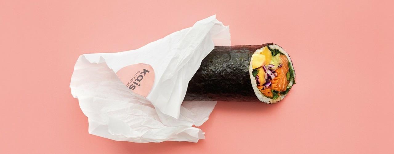 Im kaisin. gibt es Sushi Burritos