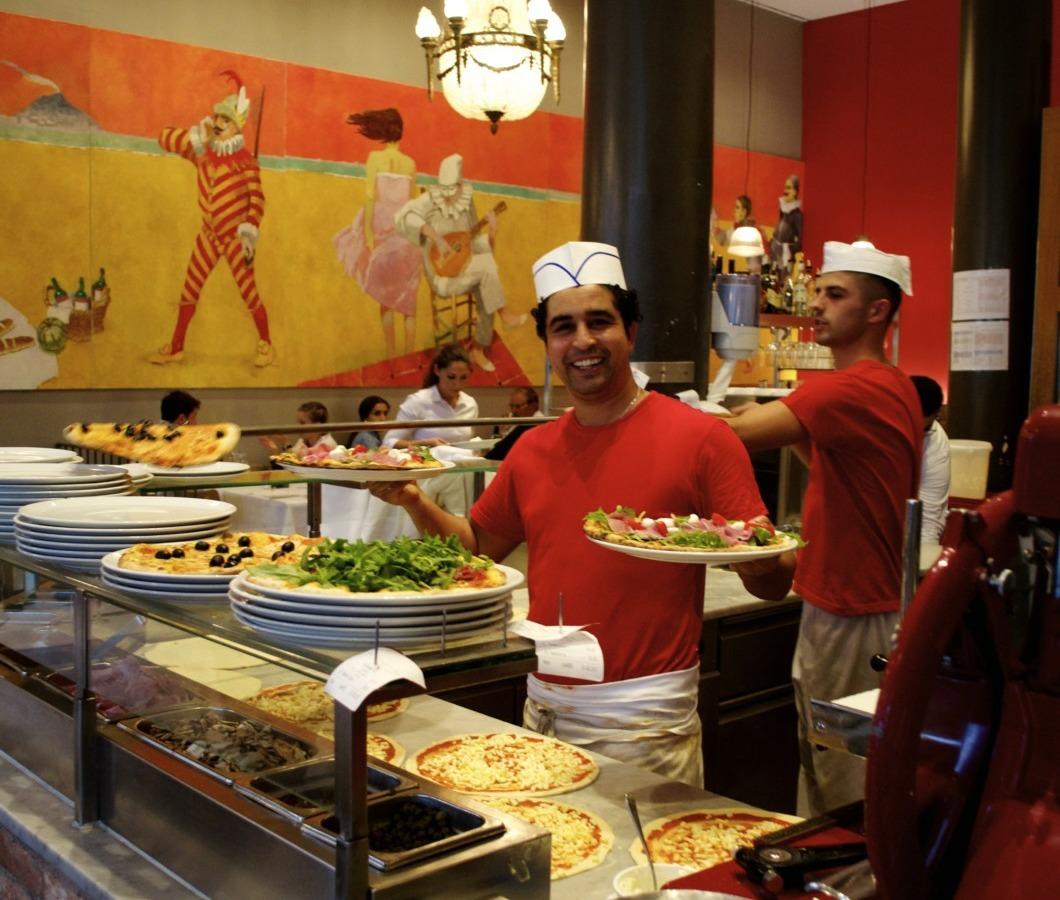 Pizzaliebe im Santa Lucia.