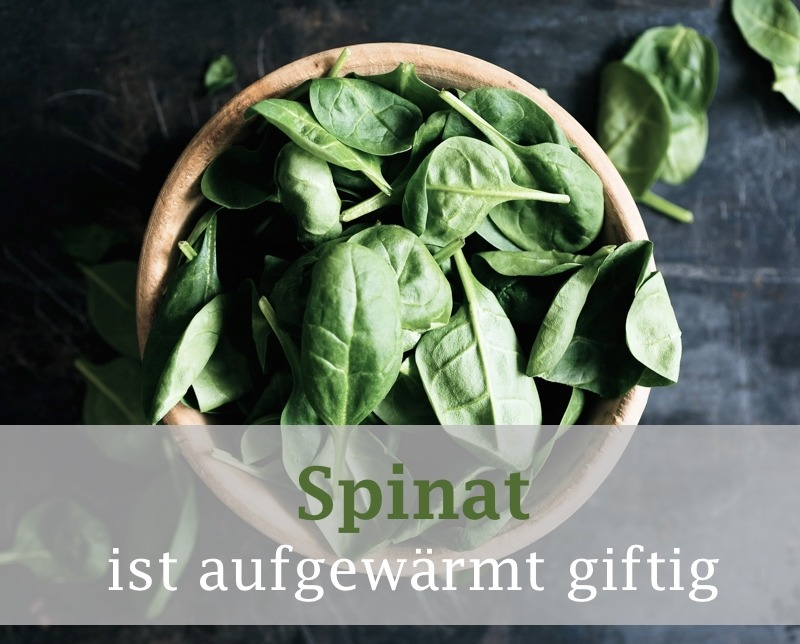 Essensmythen aufgedeckt: Spinat aufwärmen