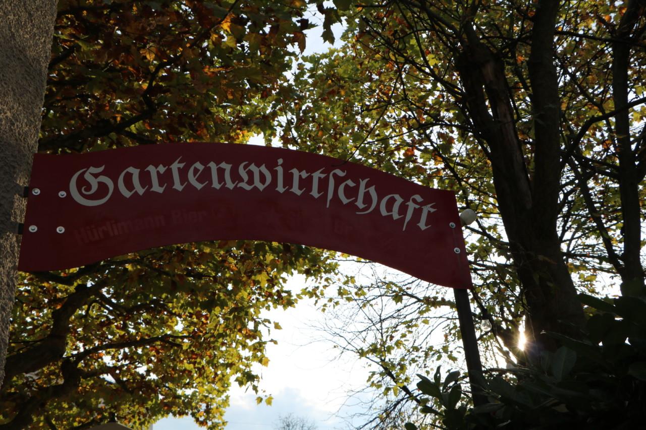 Restaurant Rosengarten in Zürich Hottingen mit Gartenwirtschaft