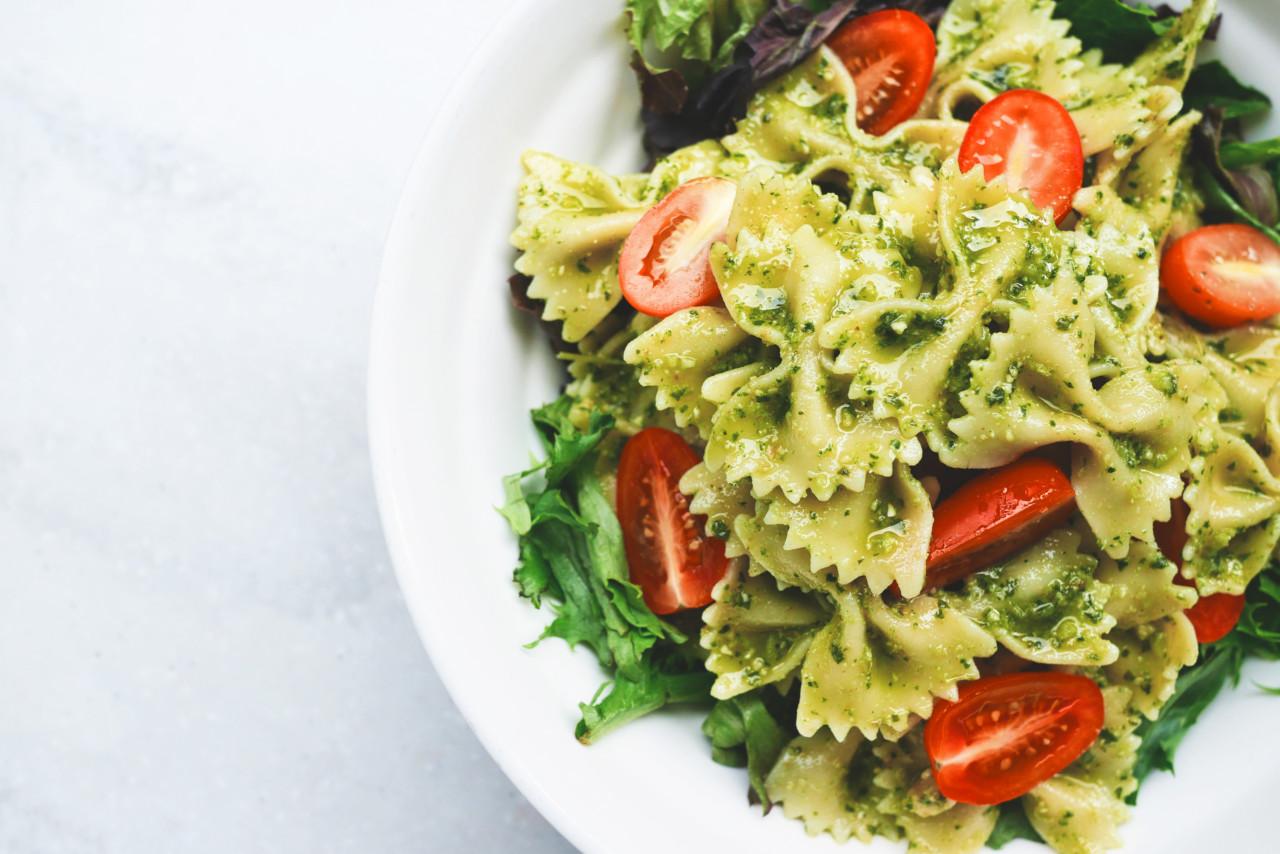Pasta mit Pesto: einfach aber gut
