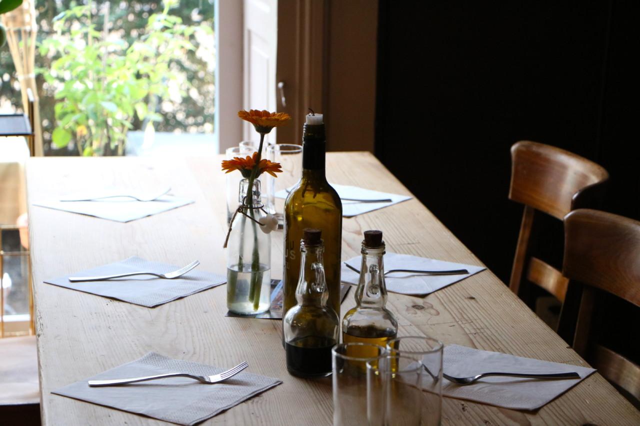 Bio sieht selten so gut aus wie im Justus, das gilt für das schöne Lokal genauso wie für das Essen. Foto: Lunchgate/Simone