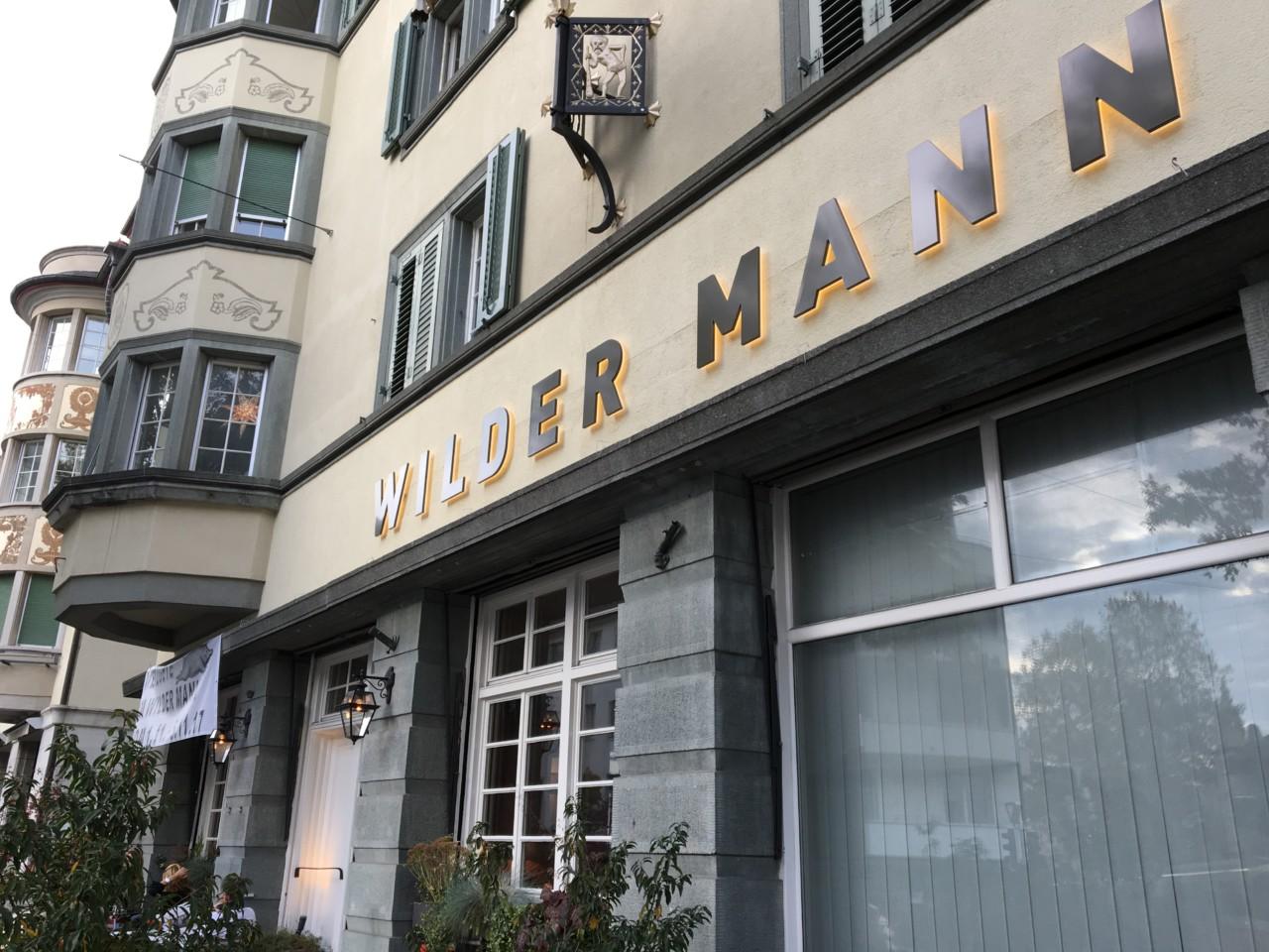 Das Restaurant Wilder Mann im Kreis 7