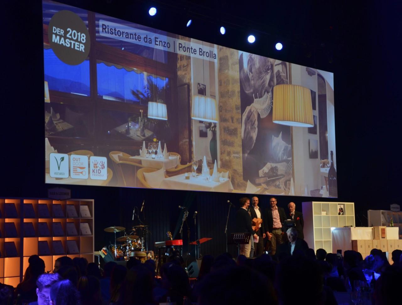 Der grosse Gewinner der diesjährigen Award Night: Das Ristorante da Enzo. Foto: Lunchgate/Anna