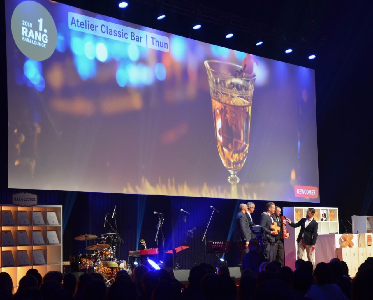Atelier Classic Bar: Bei den Gewinnern wird die Mixologie gelebt.