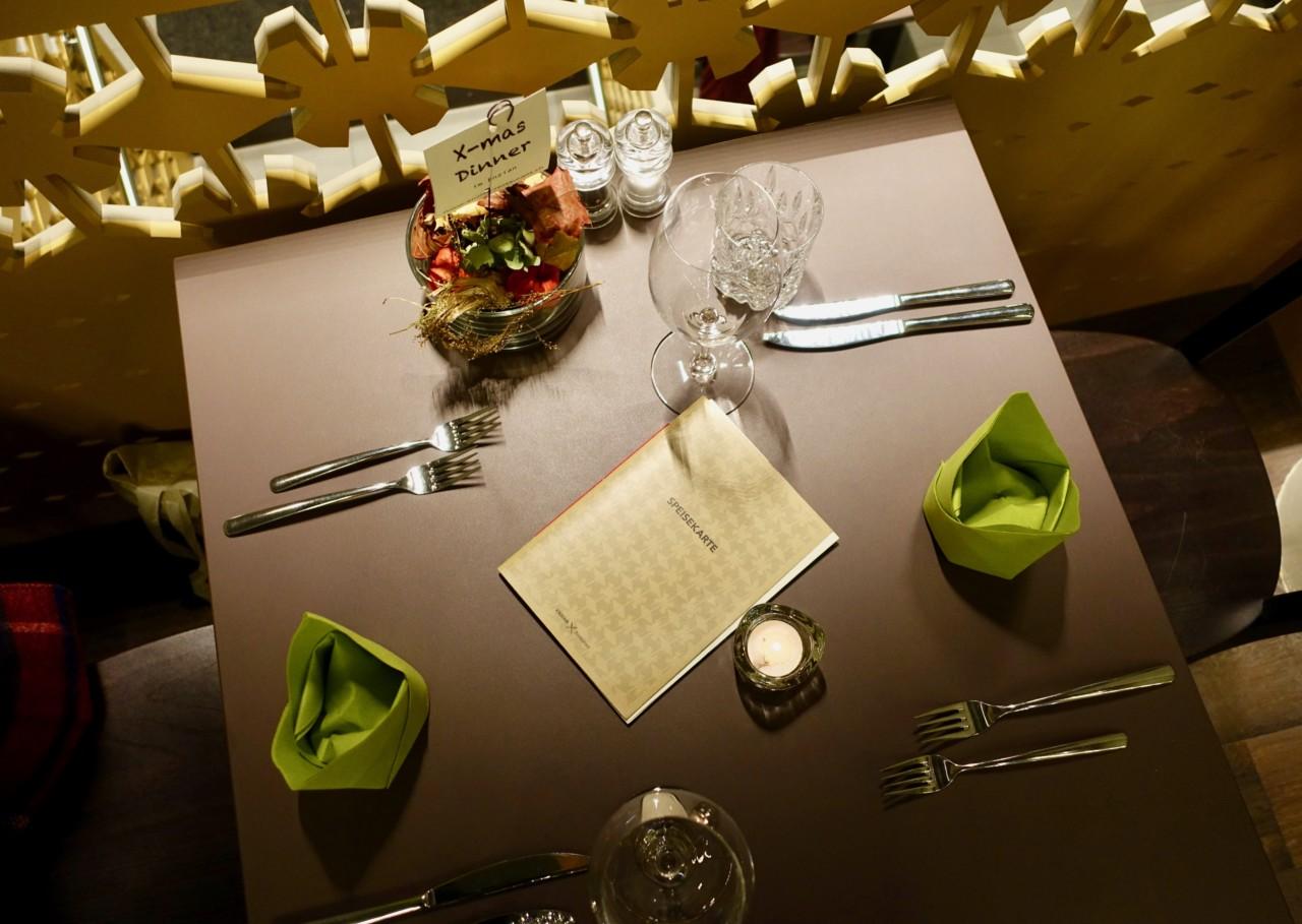 Einfach aber geschmackvoll. Das gilt auch für das Tischgedeck im Enzian. Foto: Lunchgate/Anna