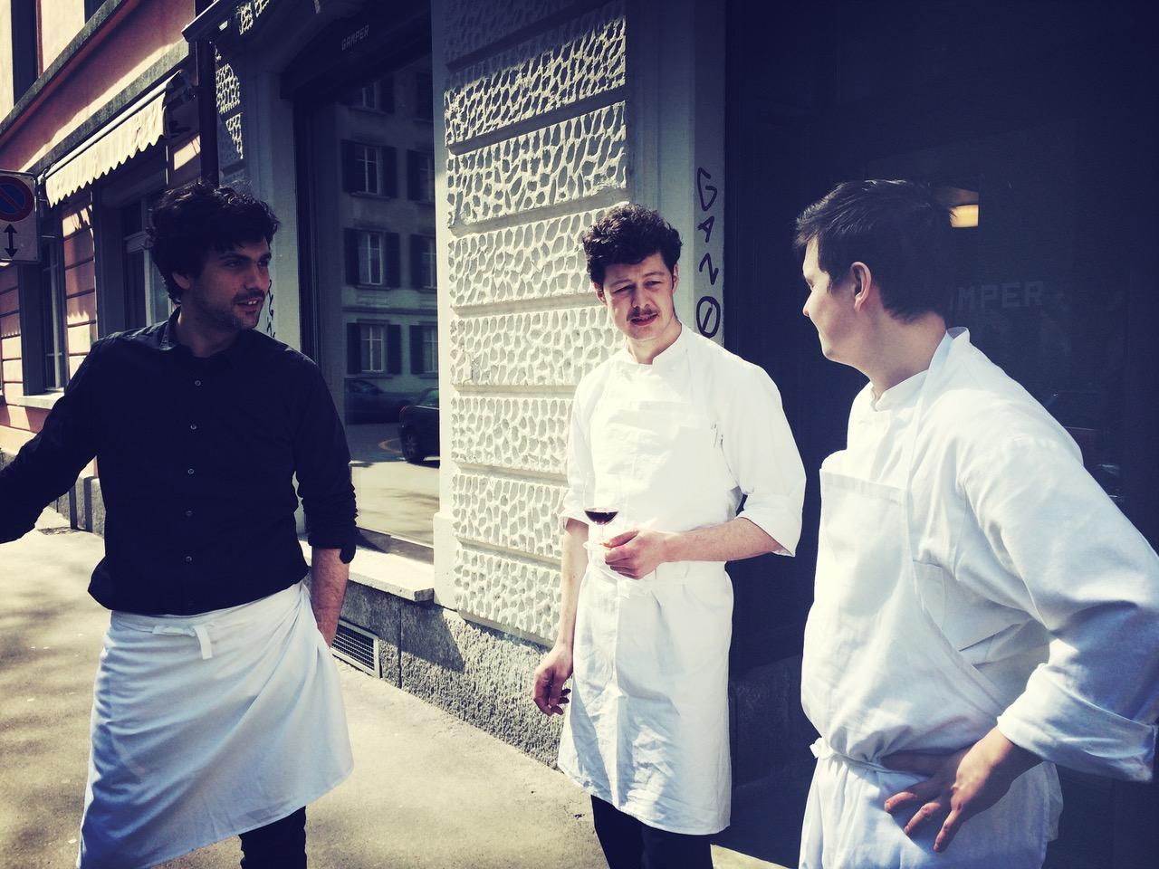 Teamfoto: Restaurant Gamper
