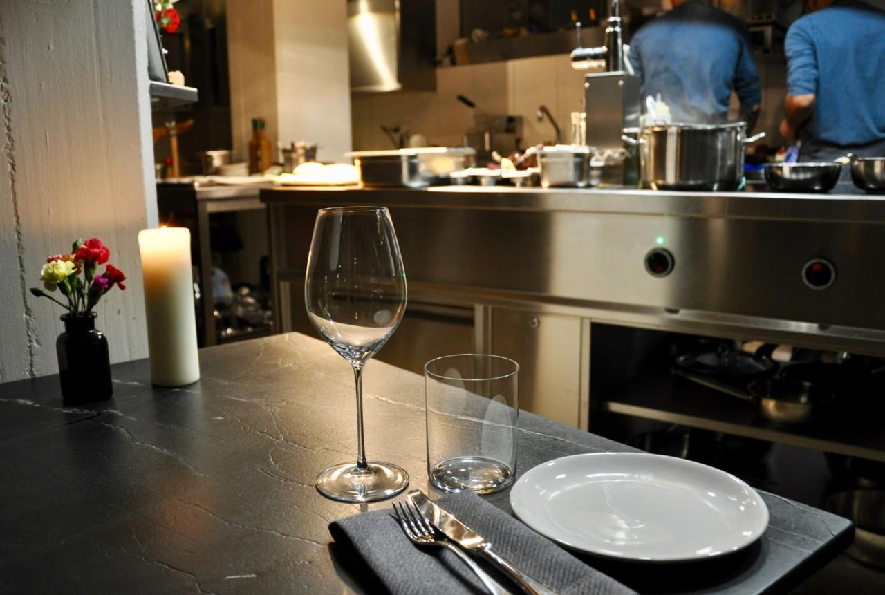 Die Aussicht auf die Küche aus der Pole-Position. Foto: Lunchgate/David