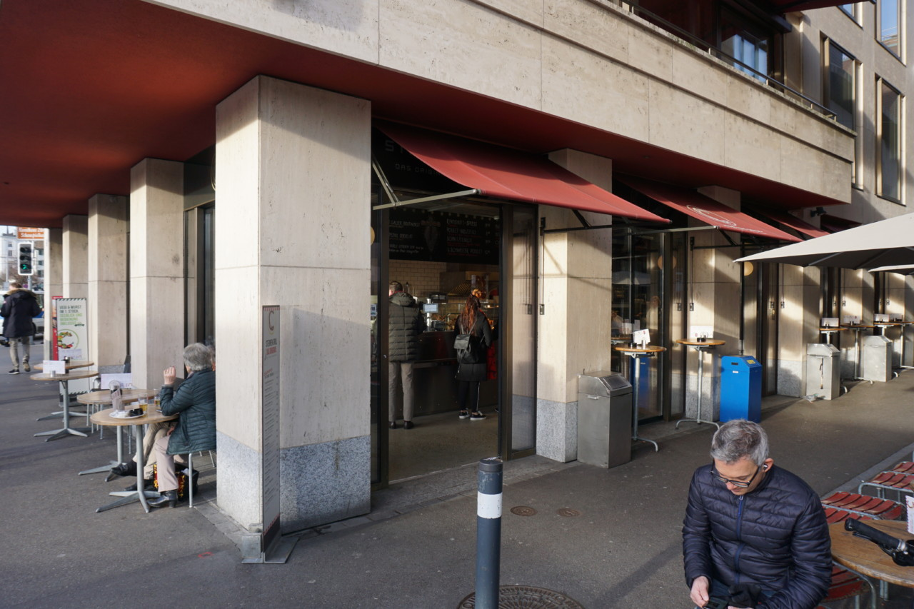 Take-away Vorderer Sternen am Bellevue in neuem Glanz Foto: Lunchgate / Max
