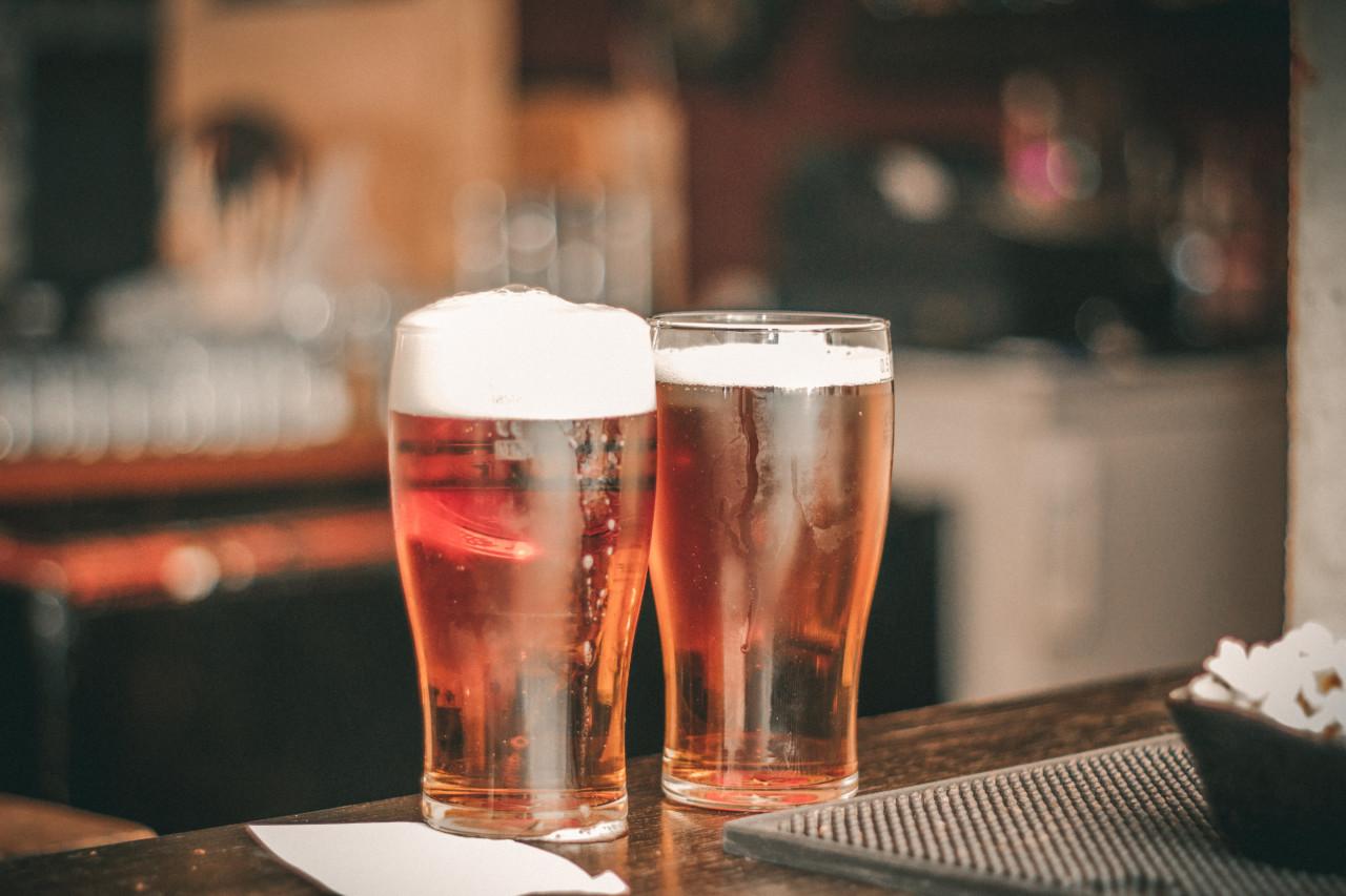 Im Pub wird das Bier in Pints serviert. Foto: pexels