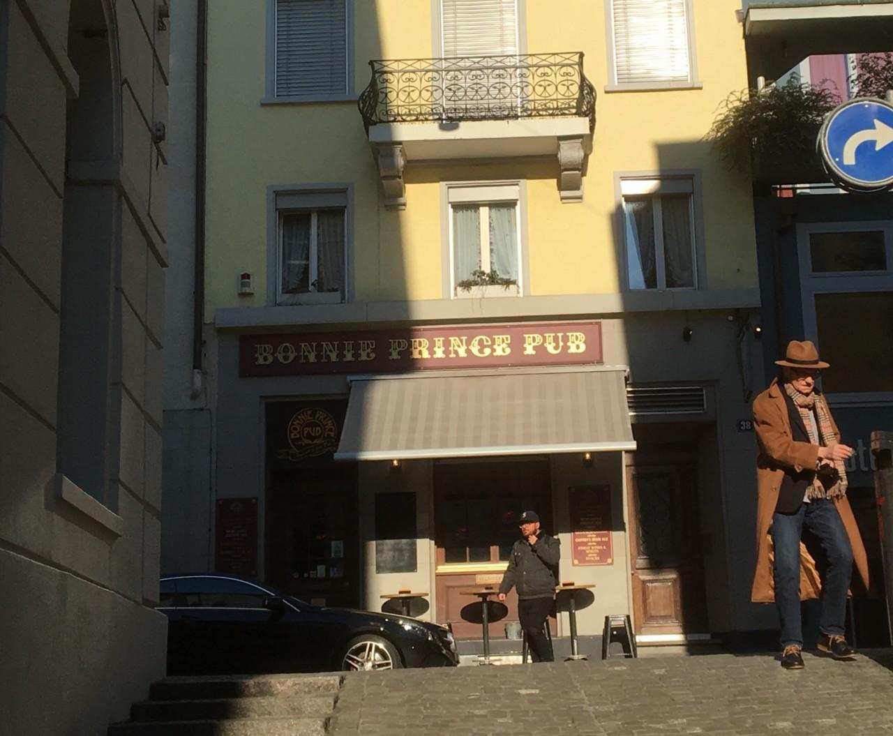 Klein und fein: Das Bonnie Prince Pub.