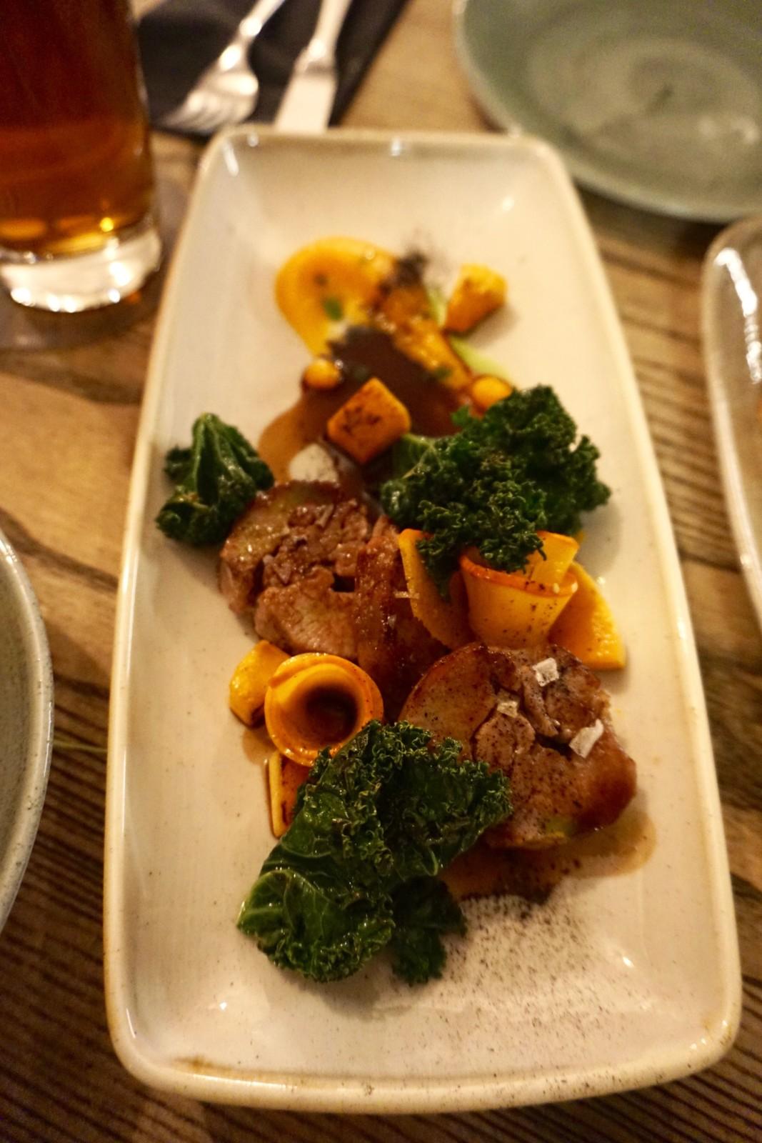 Gitzi – Kürbis – Federkohl. Drei Zutaten, ein tolles Hauptgericht. Foto: Lunchgate/Max