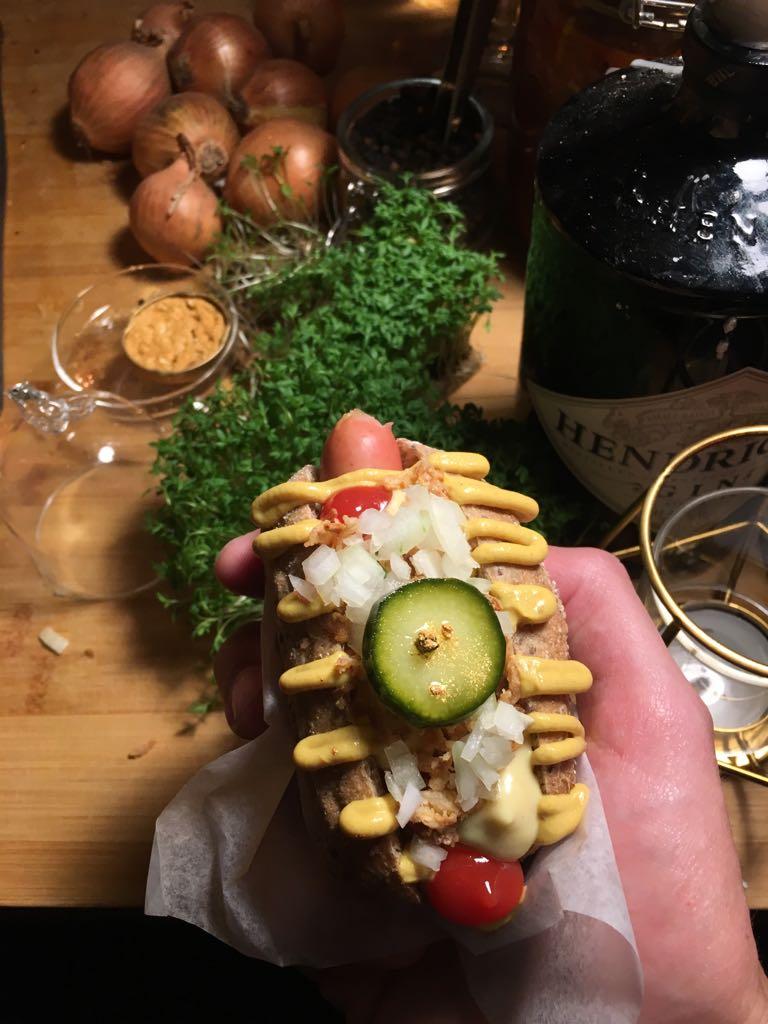 Hot Dog von Happy Souls. Foto: Lunchgate/Dave