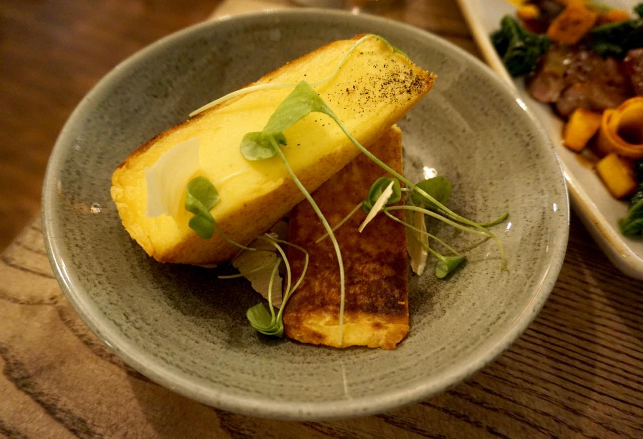 Kartoffelflan. Foto: Lunchgate/Max.