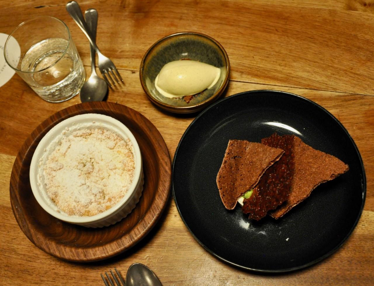 Süsse Highlights zum Schluss: Die Desserts in der Bauernschänke.
