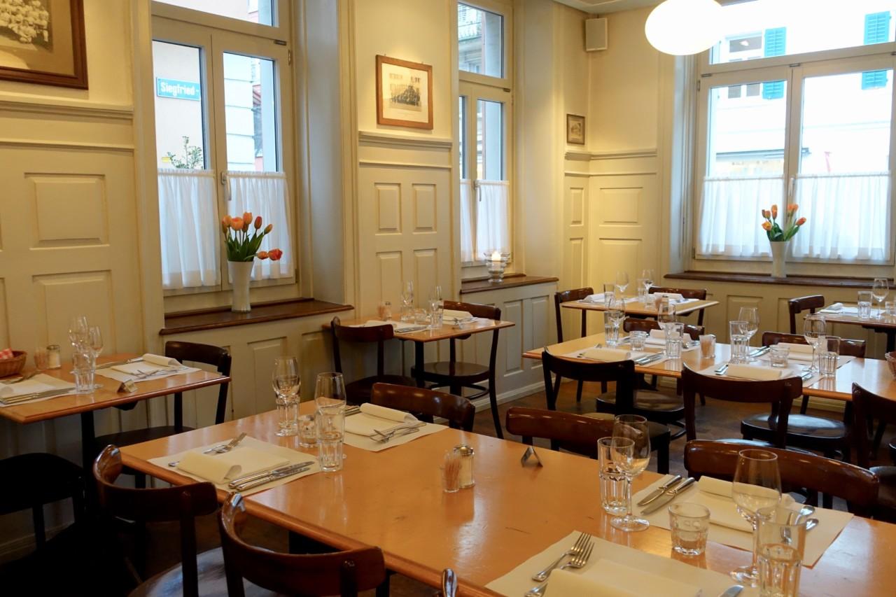 Das Restaurant Schlüssel im Zürcher Seefeld: Eine Quartierbeiz der Sonderklasse.