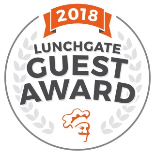 Lunchgate Guest Award 2018