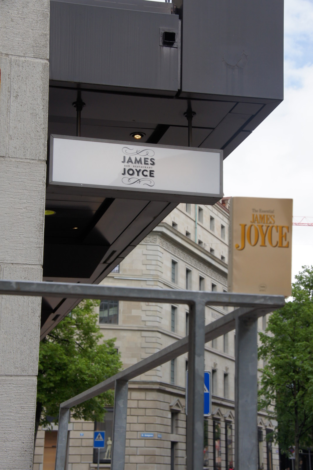 Das James Joyce Pub. Foto: Lunchgate/Max