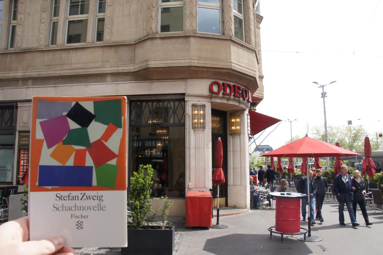 Neben vielen anderen Schriftstellern verkehrte auch Zweig im Odeon. Foto: Lunchgate/Max