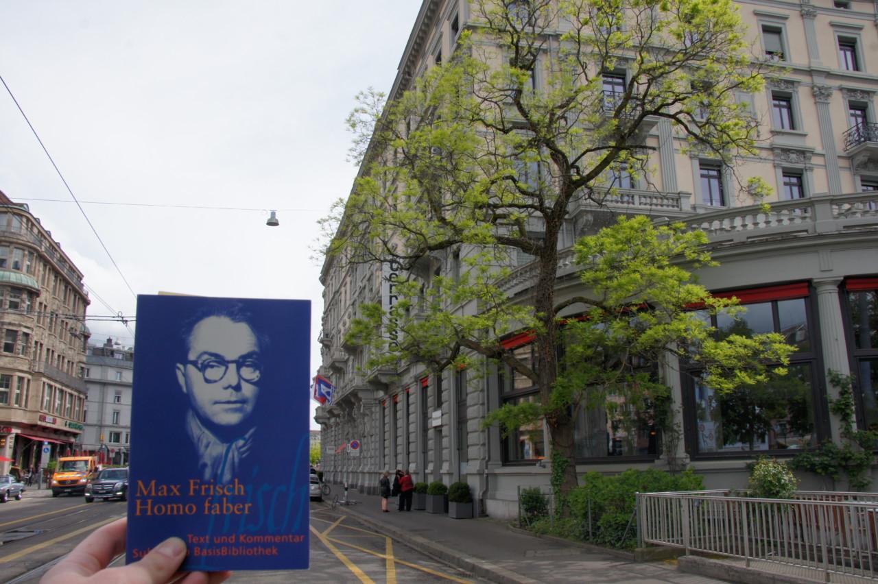 Beliebtes Ausgansziel von Max Frisch: Das Terrasse. Foto: Lunchgate/Max