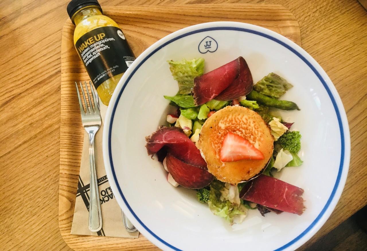 Der SPRING SALAD für den leichten Genuss über den Mittag oder Abends. Foto: Two Spice