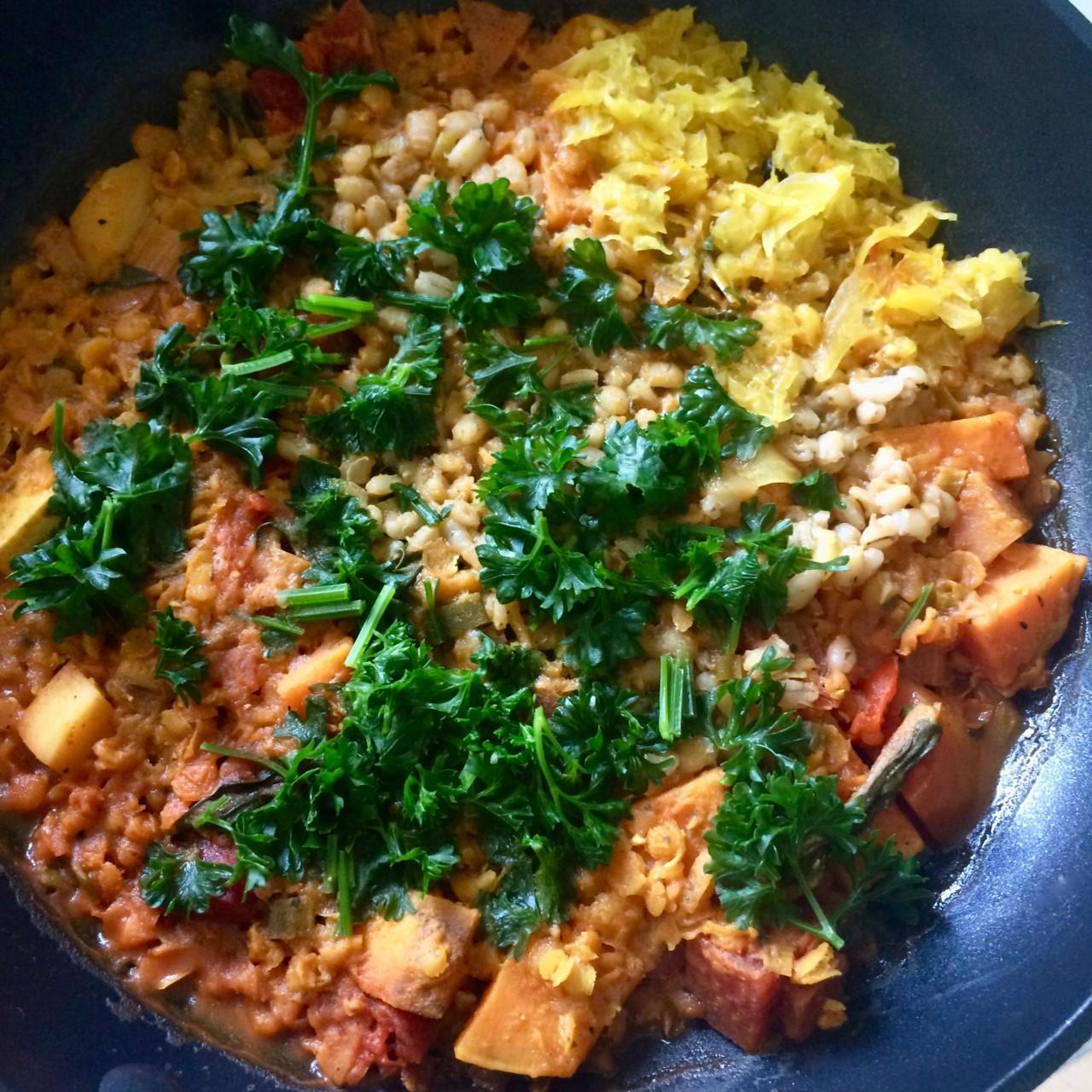 Ayurvedisch kochen ist Genuss für den Gaumen und den Geist. Foto: Lunchgate/Anna
